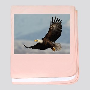 Eagle Flight baby blanket