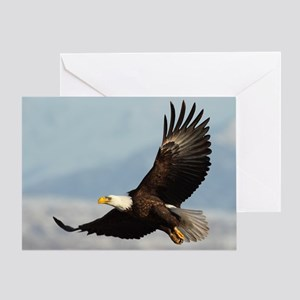 Eagle Flight Greeting Card