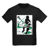 Lacrosse attack Kids T-shirts (Dark)