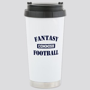 Fantasy Football Commish Stainless Steel Travel Mu