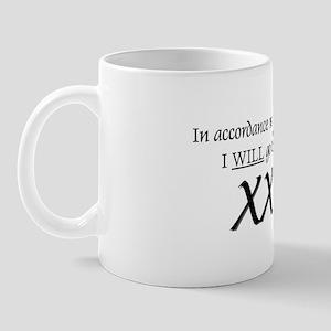 """Marathon Prophecy"" Mug"