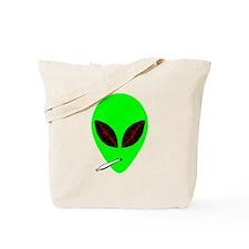 Stoned Alien Tote Bag