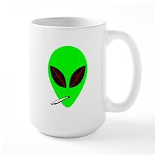 Stoned Alien Large Mug