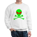 Alien Skull and Bones Sweatshirt