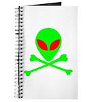 Alien Skull and Bones Journal