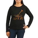 DIZ Women's Long Sleeve Dark T-Shirt