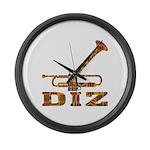 DIZ Large Wall Clock