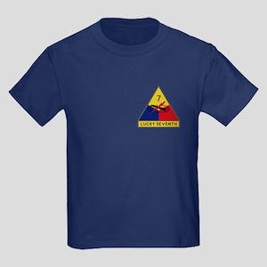 Lucky Seventh Kids Dark T-Shirt