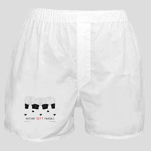 Nothin' Butt Pandas Boxer Shorts