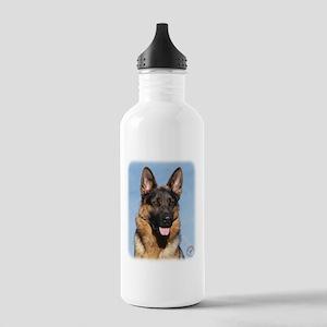 German Shepherd Dog 9Y554D-150 Stainless Water Bot