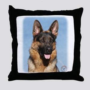 German Shepherd Dog 9Y554D-150 Throw Pillow