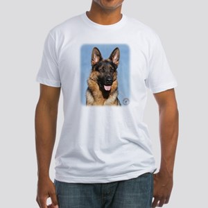 German Shepherd Dog 9Y554D-150 Fitted T-Shirt