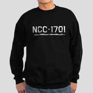 NCC-1701 (worn) Sweatshirt (dark)