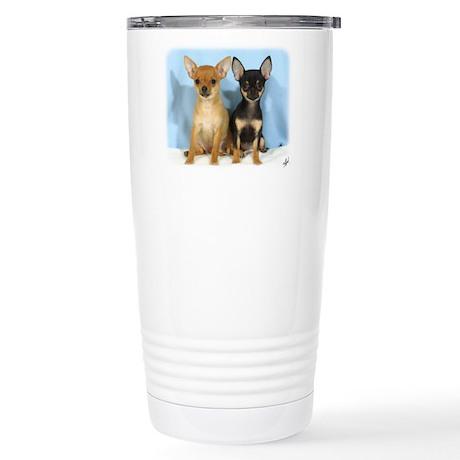 Chihuahuas 9W079D-011 Stainless Steel Travel Mug
