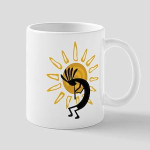 Hopi Kokopelli Gold Mug