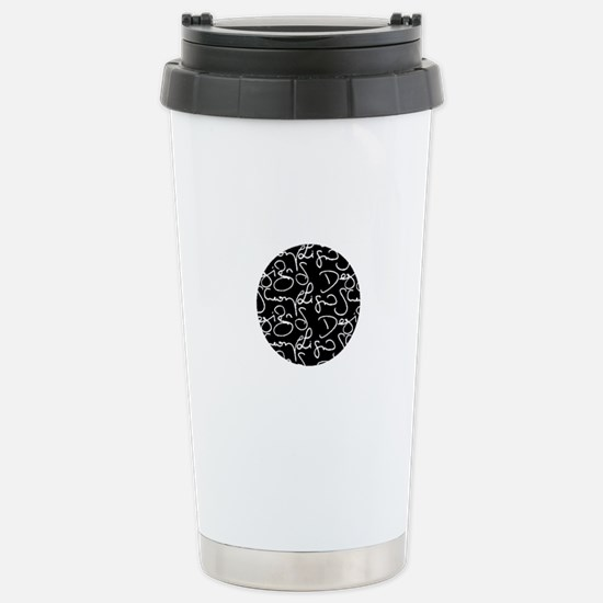 signature logo Stainless Steel Travel Mug