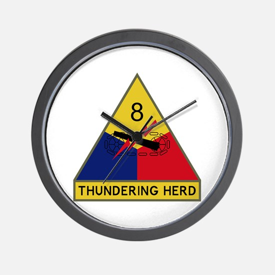 Thundering Herd Wall Clock