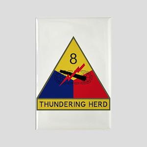 Thundering Herd Rectangle Magnet