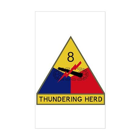 Thundering Herd Sticker (Rectangle)