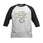 just ask auntie Kids Baseball Jersey