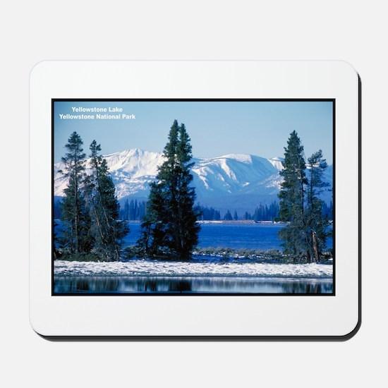 Yellowstone National Park Lake Mousepad
