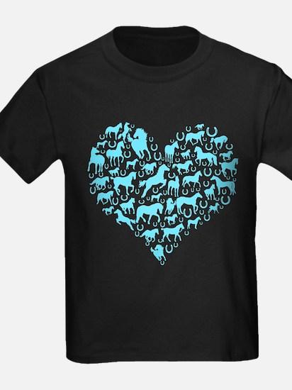 Horse Heart Art T