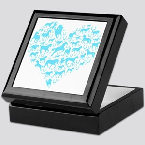 Horse Heart Art Keepsake Box