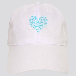 Horse Heart Art Cap