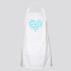 Horse Heart Art Apron