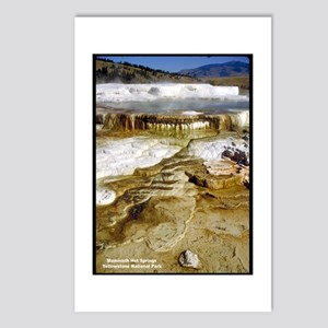 Yellowstone Mammoth Hot Springs Postcards (Package
