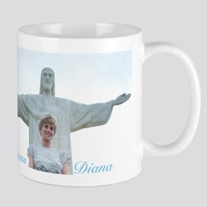 HRH Princess Diana Brazil. Mugs
