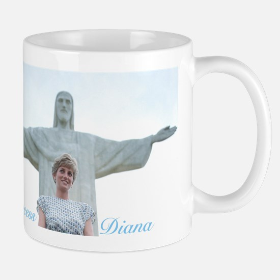 HRH Princess Diana Brazil. Mugs