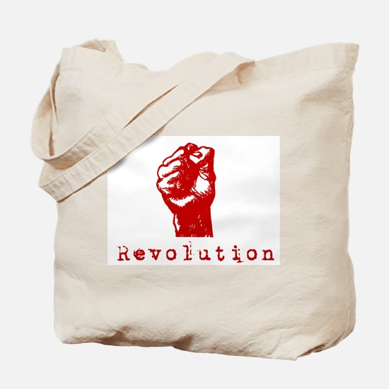 Communist Revolution Fist Tote Bag