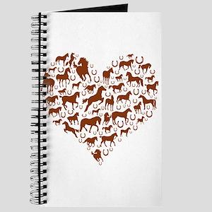 Horses & Ponies Heart Journal