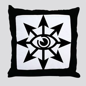 Chaos Eye Throw Pillow