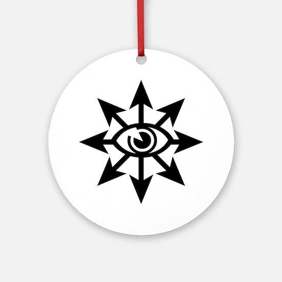 Chaos Eye Ornament (Round)