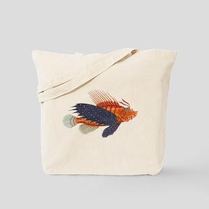 Lionfish, Genus Pterois Tote Bag