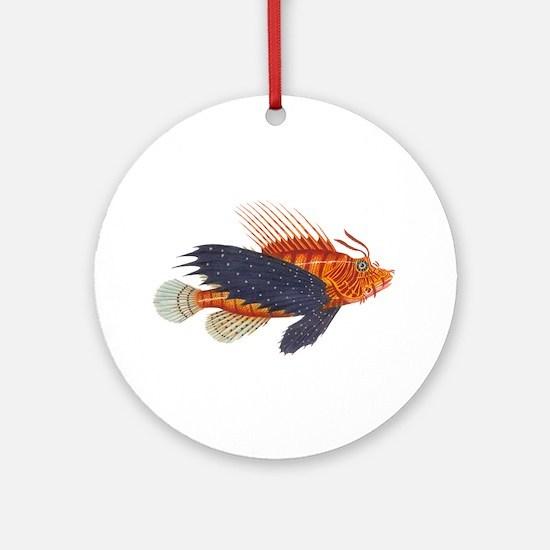 Lionfish, Genus Pterois Ornament (Round)