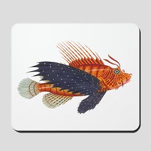 Lionfish, Genus Pterois Mousepad
