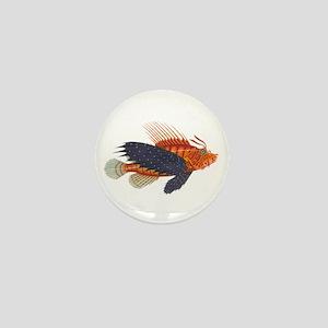 Lionfish, Genus Pterois Mini Button