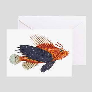 Lionfish, Genus Pterois Greeting Cards (Pk of 20)