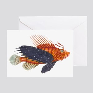 Lionfish, Genus Pterois Greeting Card