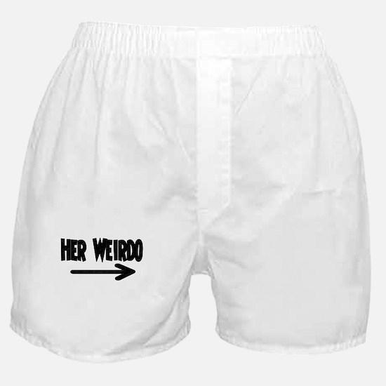 Her Weirdo Boxer Shorts