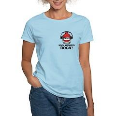 Sock Monkeys Rock Women's Light T-Shirt