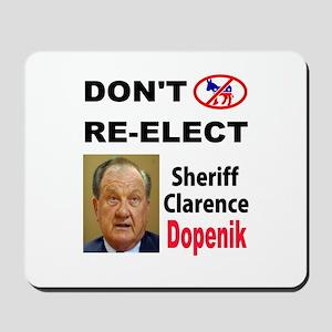 STUPID SHERIFF Mousepad