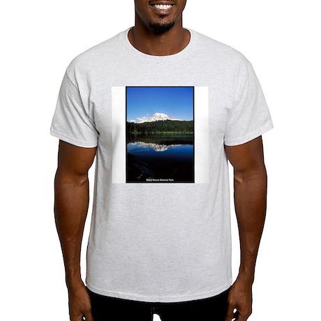 Mount Rainier National Park Ash Grey T-Shirt