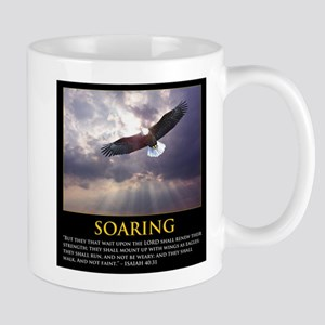 Soaring Eagle - Isa 40:31 Mugs