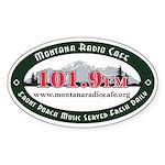 Oval 101.9 Sticker