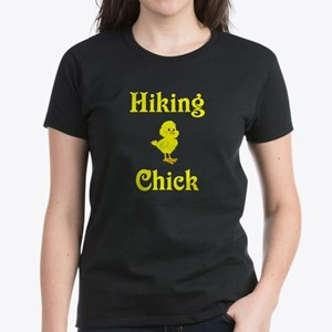 Hiking Chick Women's Dark T-Shirt