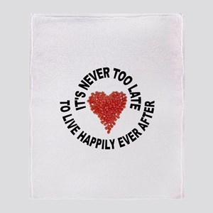 LOVE CONQUERS ALL Throw Blanket